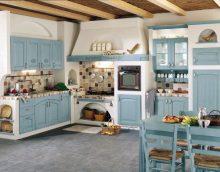 Кухненски интериор в стил Прованс - основните аспекти на декорацията и декорацията